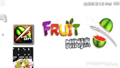 Fruit Ninja v1.35 HD [HomeBrew]